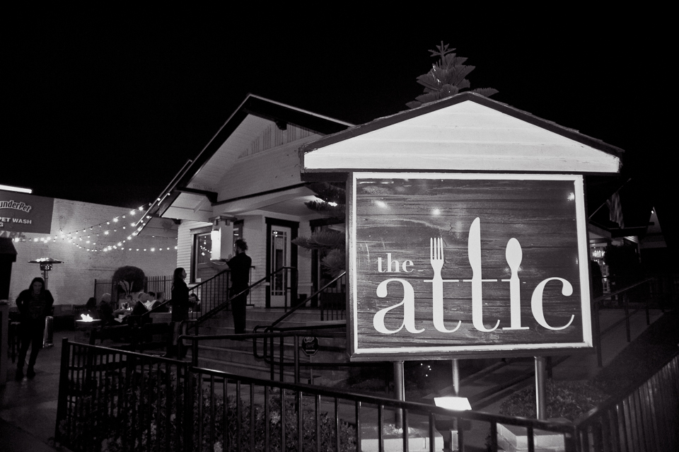 The Attic | Long Beach Restaurant | Charla Blue Photography