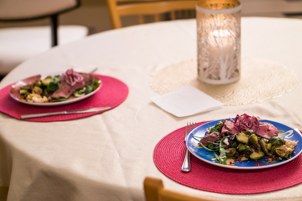 Valentines Dinner at Home | Charla Blue Photography