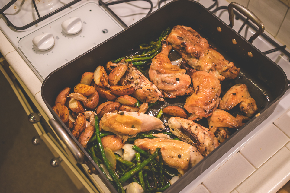 Oven Roasted Chicken   So There's That Blog   Charla Blue Photography