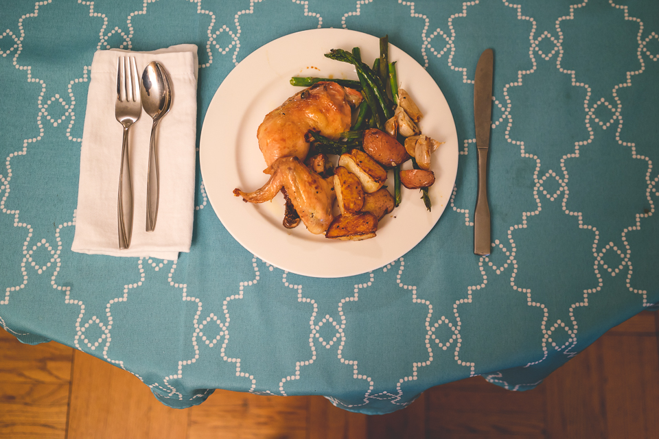Oven Roasted Chicken | So There's That Blog | Charla Blue Photography