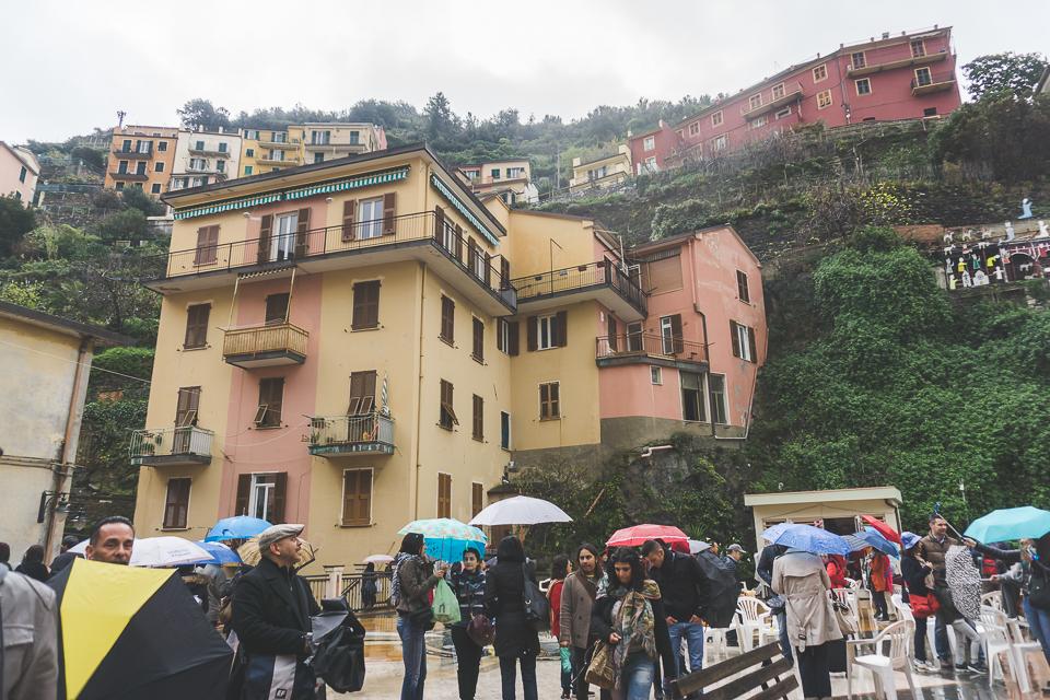 Cinque Terre cliff houses