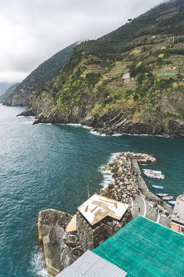 View from Castello Doria Vernazza