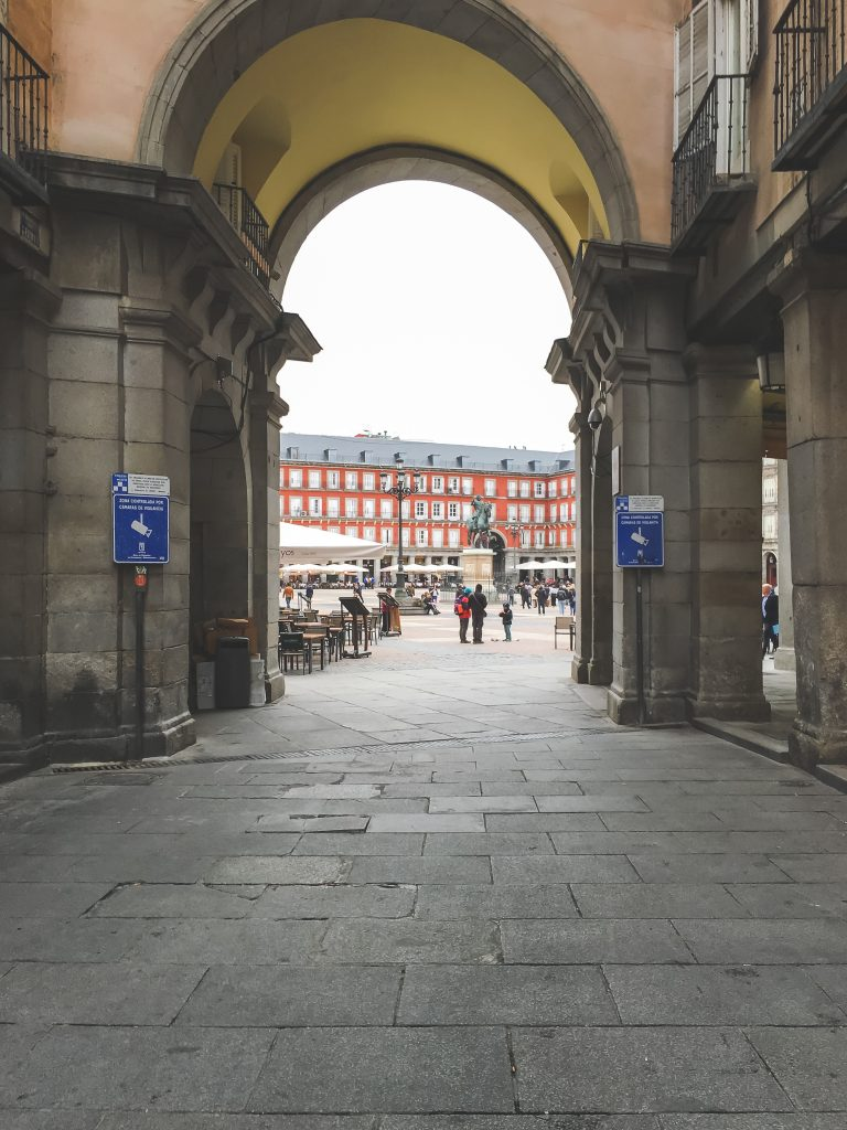 Entrance to Plaza Mayor